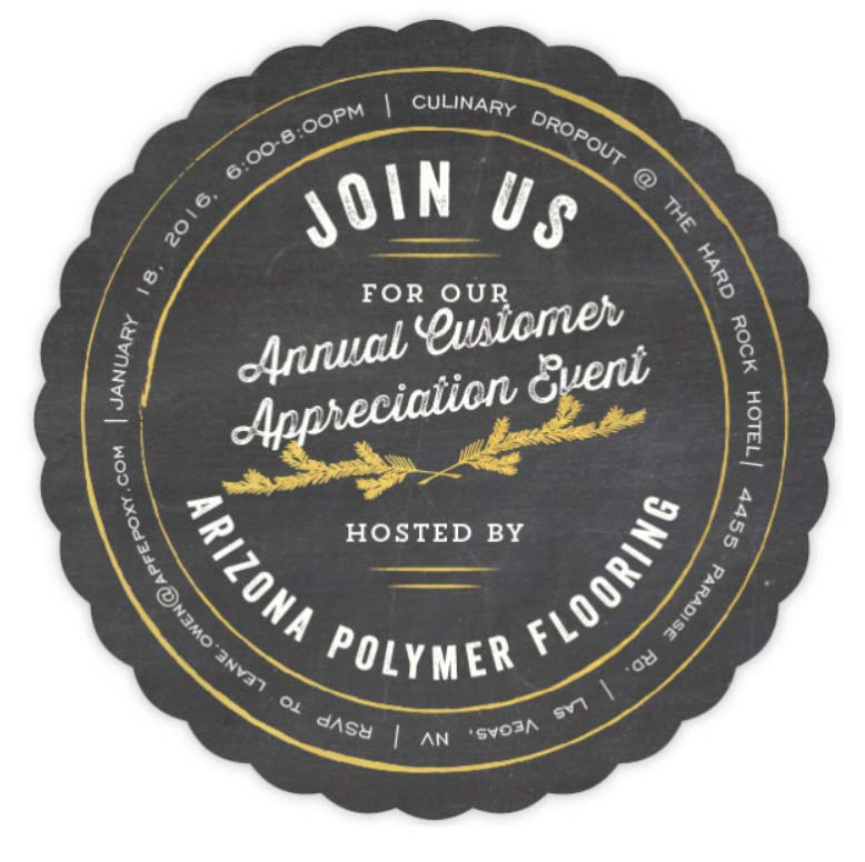 Arizona Polymer Flooring Hosts Customer Appreciation Event at 2017 World of Concrete Show