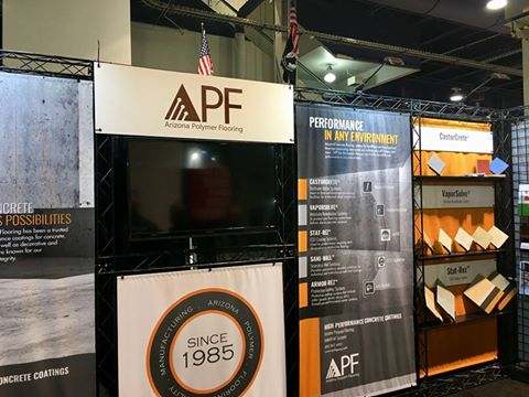 World of Concrete Shines Spotlight on APF's High-Performance Industrial Flooring Systems