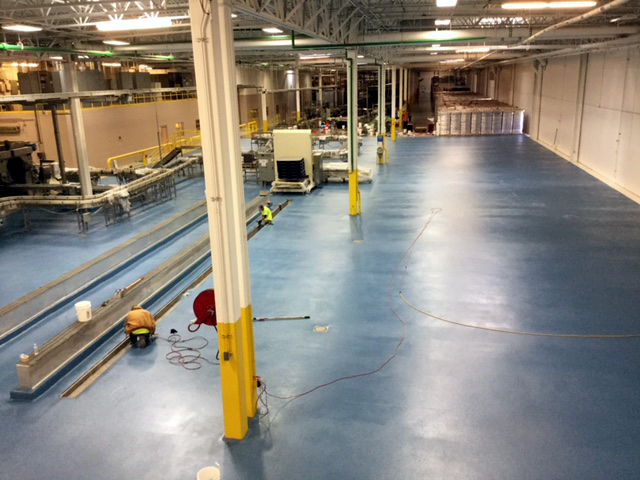 ... Project Profile: New Flooring System for Canning Company Stands Up to  Tough Environmental Demands ...