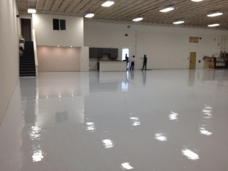 APF's VaporSolve Helps Solve Concrete Moisture Issues During Aircraft Hangar Renovation