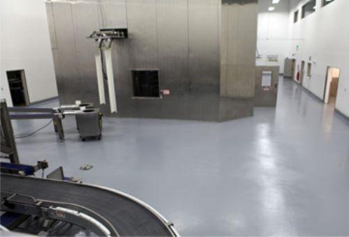 Papa John S Production Room Floor Apf Epoxy Case Studies