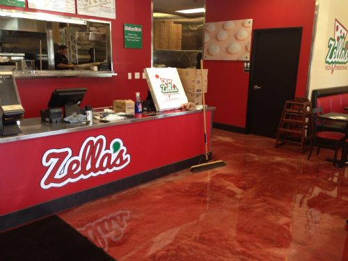 Zella's Pizza Creates Memorable, Modern Look